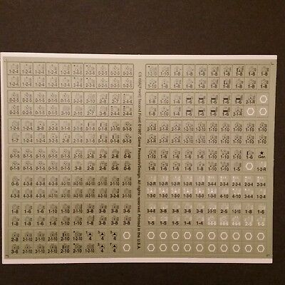Europa Second Front Unpunched Counter Sheet CS 66A