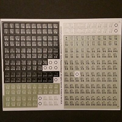 Europa Second Front Unpunched Counter Sheet CS 67A