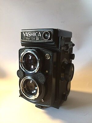 Yashica MAT - 124G | TLR Film camera | Good Condition | Film tested