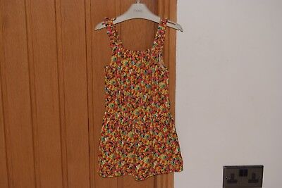 Girls NEXT Shorts Playsuit - age 5yrs - Excellent condition