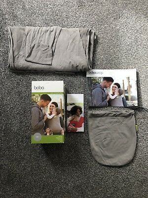 Boba Baby Wrap Baby Sling In Grey