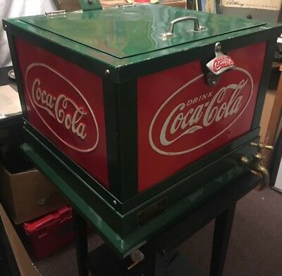 RARE Coca Cola 1930's Cooler Table model Completely restored