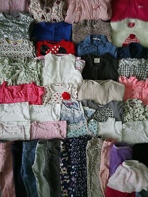 Girls Clothes Bundle 2 - 3 Years/45 Items