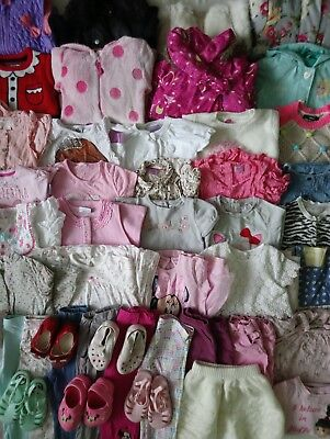 Massive Baby Girls Clothes Bundle 18 - 24 Months/Over 45 Items