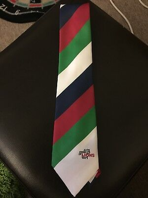 Rugby Union Tie British Lions Tour 1971 Rugby Stripes