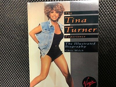 TINA TURNER Experience Books The Illustrated Biography 1994