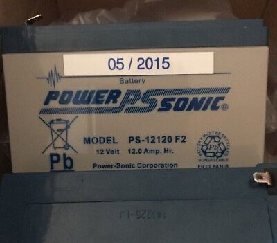 POWERSONIC PS12120 12V 12Ah AGM AKKU BATTERIE VDS