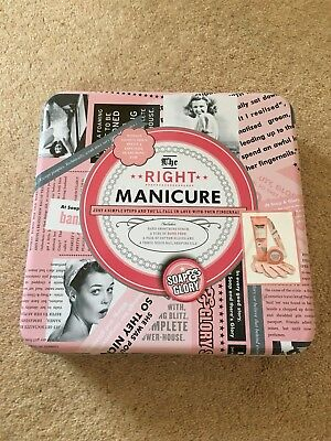 Brand New Soap & Glory The Right Manicure Gift Set
