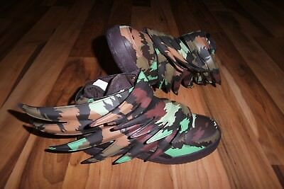 quality design c883d 81796 Adidas ObyO X JEREMY SCOTT WINGS 3.0 CAMO SAUVAGE BATMAN SHOES US 6.5 EUR  39 1
