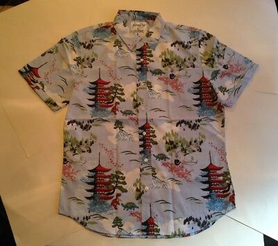 Firefly Wash Button-Down Shirt, Limited Edition Loot Wear Crate NEW UNWORN sz L
