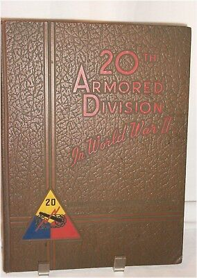 Yearbook 20Th Armored Division In World War Ii Great Pictures And Details