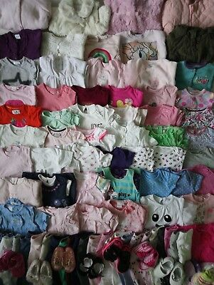 Extra Massive Baby Girls Clothes Bundle 3 - 6 Months/Over 100 Items