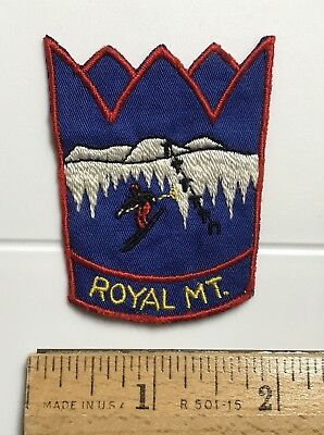 Royal Mountain Mt. Ski Area Skiing New York NY Embroidered Crown Patch Badge