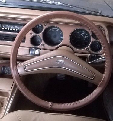 CLASSIC LEATHER STEERING WHEEL COVERS  (GLOVES) FORD  GRANADA Mk1 Mk2 Mk3 CONSUL