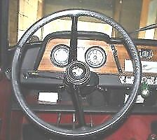 Leather Steering Wheel Cover / Glove Austin A50 A55 A60 Cambridge Morris Oxford