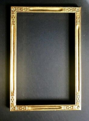 carved and gilded arts and crafts frame