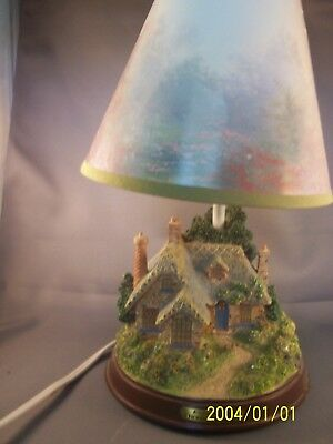 "Vintage Avon Thomas Kinkade ""Everett's Cottage"" Lamp"
