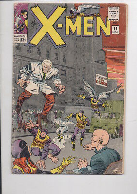 X-MEN #11 comic book/from 1965/Amazing deal...ONLY $19.95!
