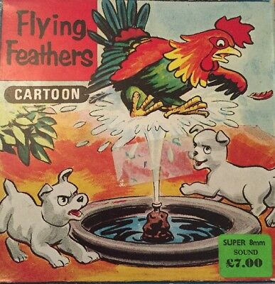 Flying Feathers Super 8mm Sound Film