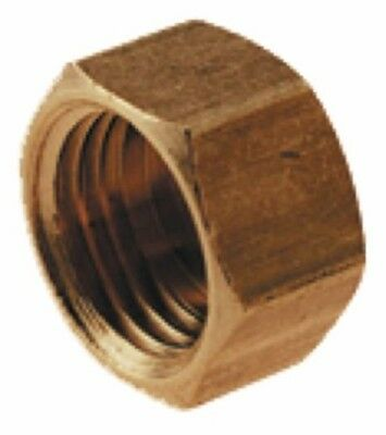 Wade Brass Compression Fitting – Imperial Blanking Nut (Pack of 10)