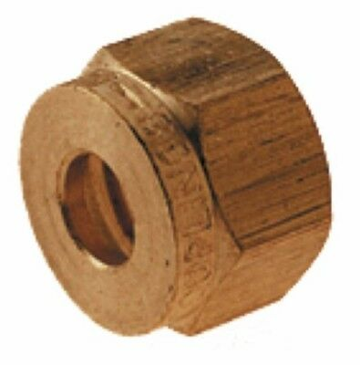 Wade Brass Compression Fitting – Metric Compression Nut (Pack of 10)