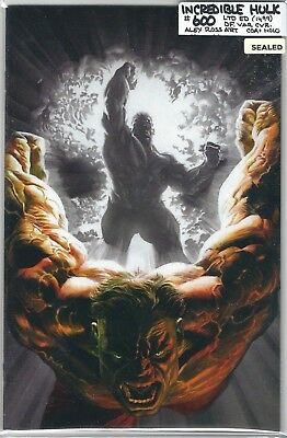 Incredible Hulk #600 Alex Ross Dynamic Forces Virgin Variant Sealed