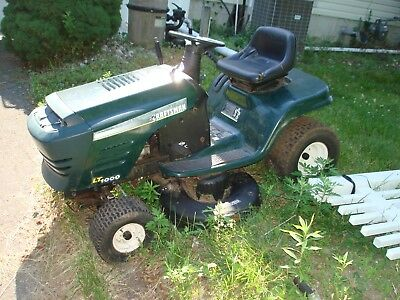 Craftsman Lt1000 Riding Mower >> Craftsman Lt1000 Riding Lawn Mower Tractor For Parts Or Repair