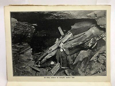 Vintage c1910 Anthracite Coal Mine Photo Souvenir Postcards Scranton PA
