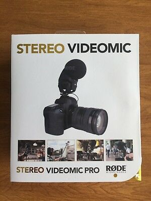 Rode Stereo VideoMic Pro works with Canon Nikon Sony