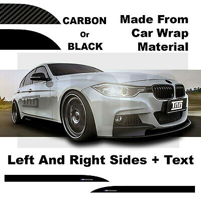 BMW 3 Series M PERFORMANCE Side Skirt Car Vinyl Sticker F10 F30 F31 F32 F33 F35