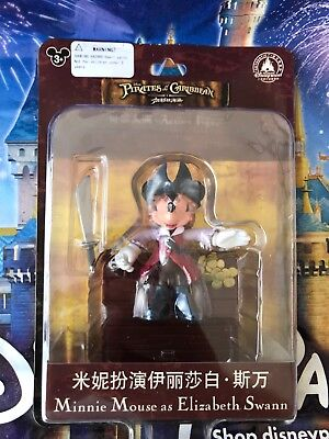 """/'Minnie Mouse as Elizabeth Swann/' 3/"""" Action Figure New Pirates of the Caribbean"""