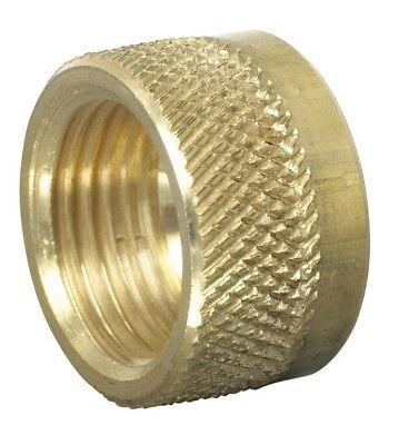 Wade Brass Compression – Imperial Knurled Nut for Polyurethane Tube (10 Pack)