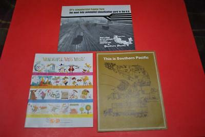 1950s-60s Southern Pacific Issued Freight/Passenger Promo Bks VGC-Color/B&W -DL