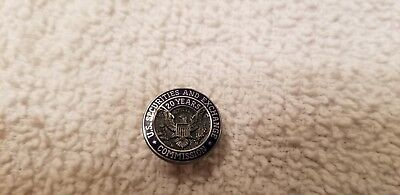 U.S. Securites And Exchange Commission 20 year Pin Sterling
