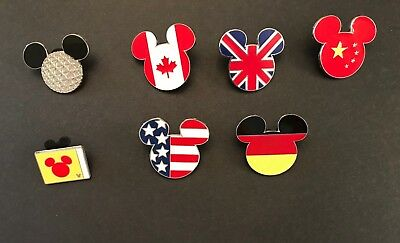 Disney Pin Trading Mickey Heads Set
