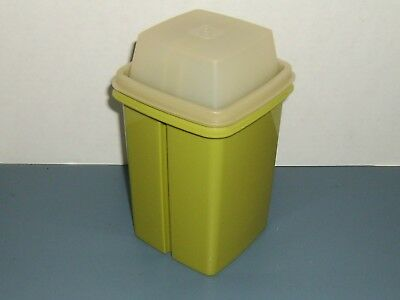 Vintage Tupperware Pick-A-Deli Pickle Keeper # 1330-Avocado/Clear