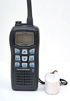 ICOM IC-M36 Floating Marine VHF Radio, excellent condition.