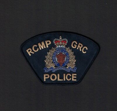 Canadian Federal Police Patch (New Issue) Canada