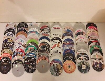 Huge Dvd Lot Of 100 Dvd's - Disc Only - Lot G1