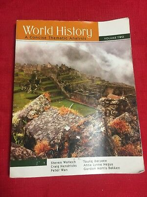 World History: A Concise Thematic Analysis (Volume 2)