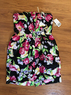 💥nwt Forever 21 Junior Top Dress Floral L M💥
