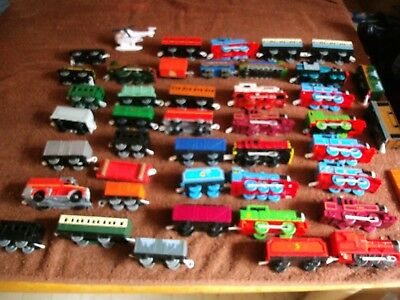 Storage Unit Find-Lot Of Thomas The Train Engines, Cars, Etc.