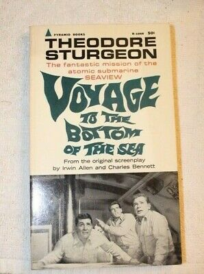 VOYAGE TO THE BOTTOM OF THE SEA Theodore Sturgeon 1964 3rd Printing Pyramid PB