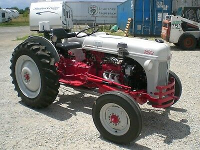 1952 Ford 8N tractor Custom Hot Rod Tractor Super Charged V6