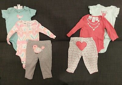 Baby girl clothing set - Carter's - 3x0 - 000 - winter spring - cute detail