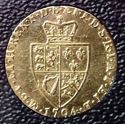 1794 British Spade Full Guinea - George III - Gold Proclamation Coin