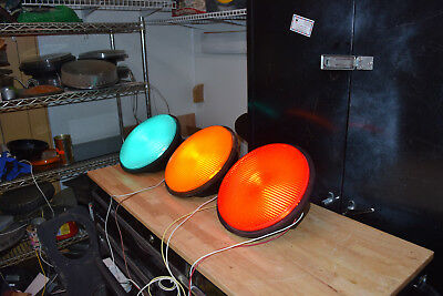 "12"" led traffic light modules -Matching set of three working led's"