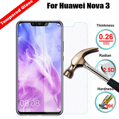 9H Real Anti-Scratch Tempered Glass Film Screen Protector For Huawei Nova 3 3i