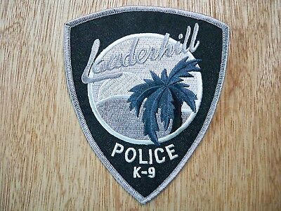 Florida - Lauderhill Police Patch CURRENT ISSUE K-9 UNIT