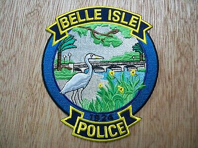 Florida - Belle Isle Police Patch CURRENT ISSUE WITH BLACK BORDER